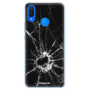 Silikonové pouzdro iSaprio (mléčně zakalené) Broken Glass 10 na mobil Huawei Nova 3i