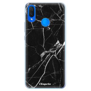 Silikonové pouzdro iSaprio (mléčně zakalené) Black Marble 18 na mobil Huawei Nova 3i