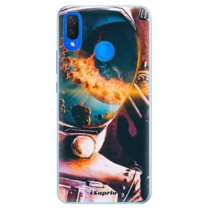 Silikonové pouzdro iSaprio (mléčně zakalené) Astronaut 01 na mobil Huawei Nova 3i