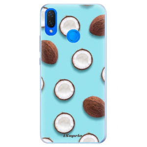 Silikonové pouzdro iSaprio (mléčně zakalené) Kokos 01 na mobil Huawei Nova 3i