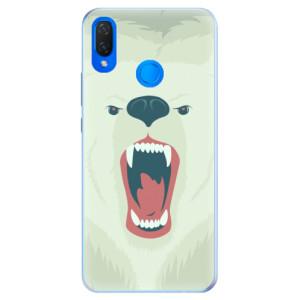 Silikonové pouzdro iSaprio (mléčně zakalené) Naštvanej Medvěd na mobil Huawei Nova 3i