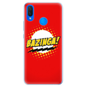 Silikonové pouzdro iSaprio (mléčně zakalené) Bazinga 01 na mobil Huawei Nova 3i