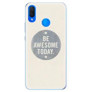 Silikonové pouzdro iSaprio (mléčně zakalené) Awesome 02 na mobil Huawei Nova 3i