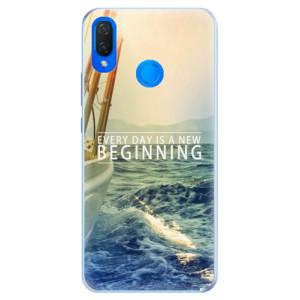 Silikonové pouzdro iSaprio (mléčně zakalené) Beginning na mobil Huawei Nova 3i