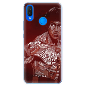 Silikonové pouzdro iSaprio (mléčně zakalené) Bruce Lee na mobil Huawei Nova 3i