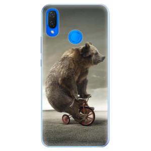 Silikonové pouzdro iSaprio (mléčně zakalené) Medvěd 01 na mobil Huawei Nova 3i