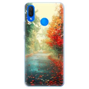 Silikonové pouzdro iSaprio (mléčně zakalené) Podzim 03 na mobil Huawei Nova 3i