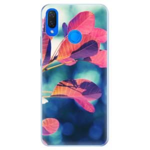 Silikonové pouzdro iSaprio (mléčně zakalené) Podzim 01 na mobil Huawei Nova 3i