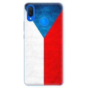 Silikonové pouzdro iSaprio (mléčně zakalené) Česká Vlajka na mobil Huawei Nova 3i