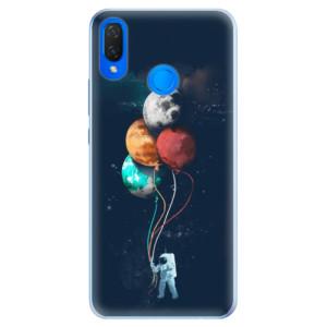 Silikonové pouzdro iSaprio (mléčně zakalené) Balónky 02 na mobil Huawei Nova 3i