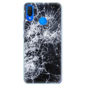 Silikonové pouzdro iSaprio (mléčně zakalené) Praskliny na mobil Huawei Nova 3i