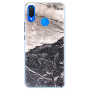 Silikonové pouzdro iSaprio (mléčně zakalené) BW Mramor na mobil Huawei Nova 3i