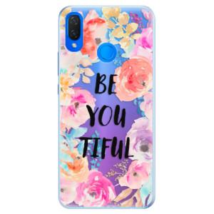 Silikonové pouzdro iSaprio (mléčně zakalené) BeYouTiful na mobil Huawei Nova 3i