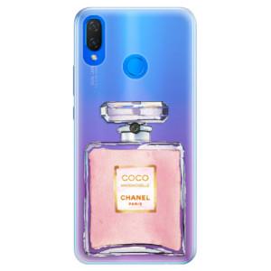 Silikonové pouzdro iSaprio (mléčně zakalené) Chanel Rose na mobil Huawei Nova 3i