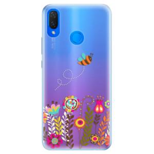 Silikonové pouzdro iSaprio (mléčně zakalené) Včelka Pája 01 na mobil Huawei Nova 3i