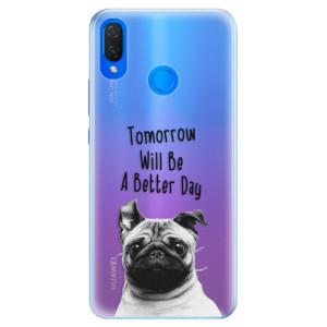 Silikonové pouzdro iSaprio (mléčně zakalené) Better Day 01 na mobil Huawei Nova 3i