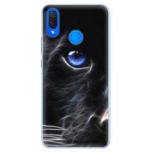 Silikonové pouzdro iSaprio (mléčně zakalené) Black Puma na mobil Huawei Nova 3i