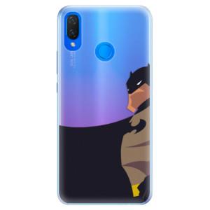 Silikonové pouzdro iSaprio (mléčně zakalené) BaT Komiks na mobil Huawei Nova 3i