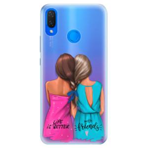 Silikonové pouzdro iSaprio (mléčně zakalené) Best Friends na mobil Huawei Nova 3i