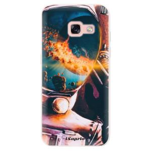 Silikonové pouzdro iSaprio (mléčně zakalené) Astronaut 01 na mobil Samsung Galaxy A3 2017