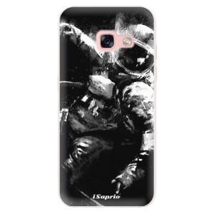 Silikonové pouzdro iSaprio (mléčně zakalené) Astronaut 02 na mobil Samsung Galaxy A3 2017