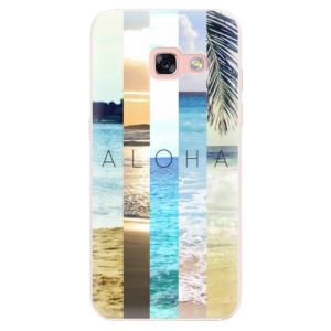 Silikonové pouzdro iSaprio (mléčně zakalené) Aloha 02 na mobil Samsung Galaxy A3 2017