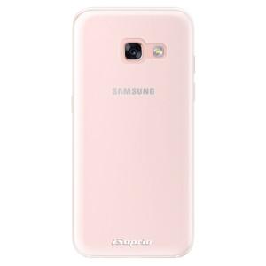 Silikonové pouzdro iSaprio 4Pure mléčné bez potisku na mobil Samsung Galaxy A3 2017