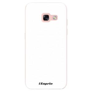 Silikonové pouzdro iSaprio 4Pure bílé na mobil Samsung Galaxy A3 2017