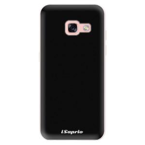 Silikonové pouzdro iSaprio 4Pure černé na mobil Samsung Galaxy A3 2017