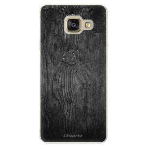 Silikonové pouzdro iSaprio (mléčně zakalené) Black Wood 13 na mobil Samsung Galaxy A5 2016