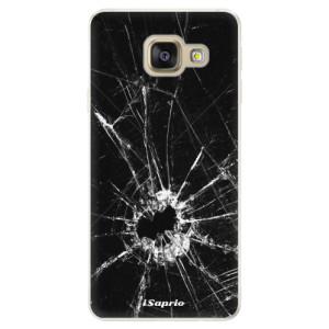 Silikonové pouzdro iSaprio (mléčně zakalené) Broken Glass 10 na mobil Samsung Galaxy A5 2016