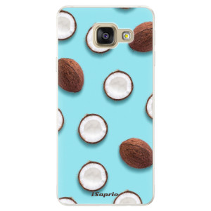 Silikonové pouzdro iSaprio (mléčně zakalené) Kokos 01 na mobil Samsung Galaxy A5 2016