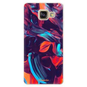 Silikonové pouzdro iSaprio (mléčně zakalené) Barevný mramor 19 na mobil Samsung Galaxy A5 2016