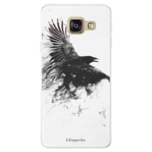 Silikonové pouzdro iSaprio (mléčně zakalené) Havran 01 na mobil Samsung Galaxy A5 2016