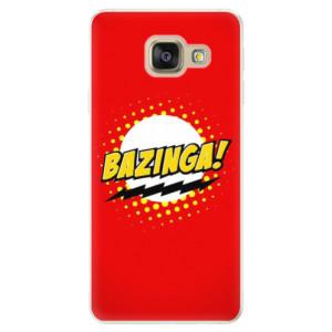 Silikonové pouzdro iSaprio (mléčně zakalené) Bazinga 01 na mobil Samsung Galaxy A5 2016