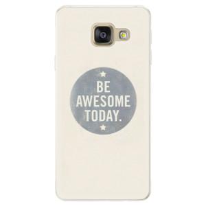 Silikonové pouzdro iSaprio (mléčně zakalené) Awesome 02 na mobil Samsung Galaxy A5 2016