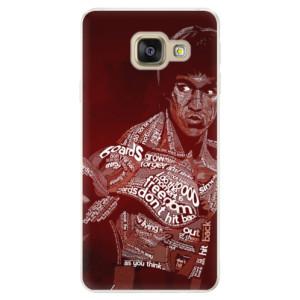 Silikonové pouzdro iSaprio (mléčně zakalené) Bruce Lee na mobil Samsung Galaxy A5 2016