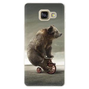 Silikonové pouzdro iSaprio (mléčně zakalené) Medvěd 01 na mobil Samsung Galaxy A5 2016