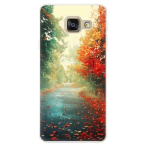 Silikonové pouzdro iSaprio (mléčně zakalené) Podzim 03 na mobil Samsung Galaxy A5 2016