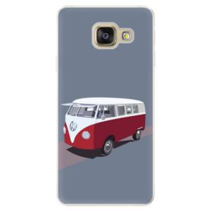 Silikonové pouzdro iSaprio (mléčně zakalené) VW Bus na mobil Samsung Galaxy A5 2016 - poslední kus za tuto cenu