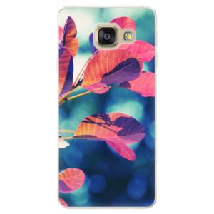 Silikonové pouzdro iSaprio (mléčně zakalené) Podzim 01 na mobil Samsung Galaxy A5 2016