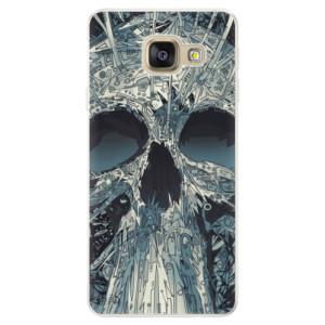 Silikonové pouzdro iSaprio (mléčně zakalené) Abstract Skull na mobil Samsung Galaxy A5 2016
