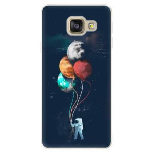 Silikonové pouzdro iSaprio (mléčně zakalené) Balónky 02 na mobil Samsung Galaxy A5 2016