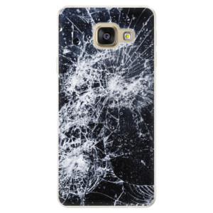 Silikonové pouzdro iSaprio (mléčně zakalené) Praskliny na mobil Samsung Galaxy A5 2016