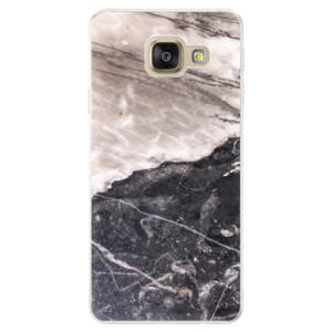 Silikonové pouzdro iSaprio (mléčně zakalené) BW Mramor na mobil Samsung Galaxy A5 2016