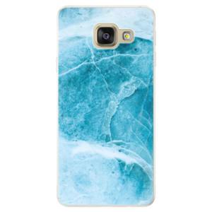 Silikonové pouzdro iSaprio (mléčně zakalené) Blue Marble na mobil Samsung Galaxy A5 2016