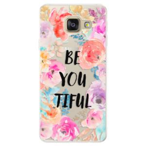 Silikonové pouzdro iSaprio (mléčně zakalené) BeYouTiful na mobil Samsung Galaxy A5 2016