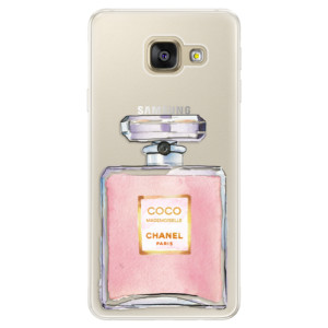 Silikonové pouzdro iSaprio (mléčně zakalené) Chanel Rose na mobil Samsung Galaxy A5 2016