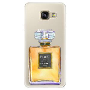 Silikonové pouzdro iSaprio (mléčně zakalené) Chanel Gold na mobil Samsung Galaxy A5 2016