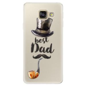 Silikonové pouzdro iSaprio (mléčně zakalené) Best Dad na mobil Samsung Galaxy A5 2016